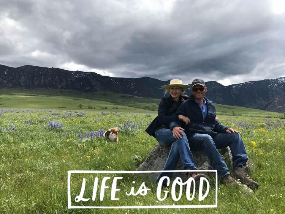 Sandra and Paul Wallop - Canyon Ranch Big Horn Wyoming