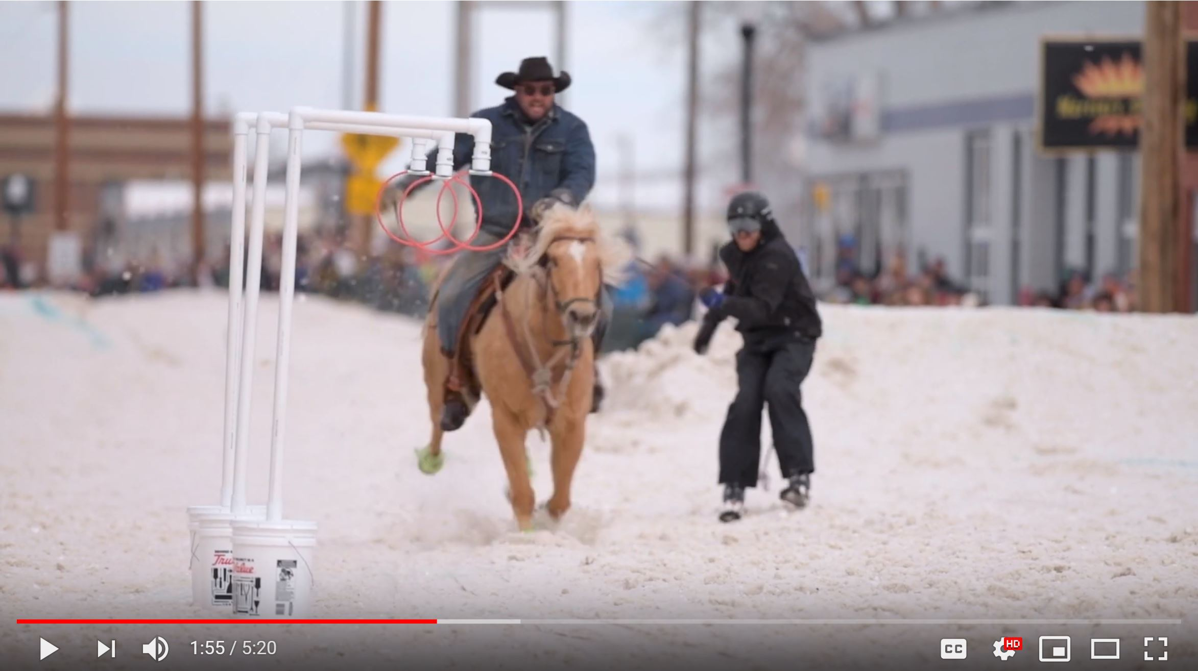 Sheridan Press Winter WYO Rodeo Video